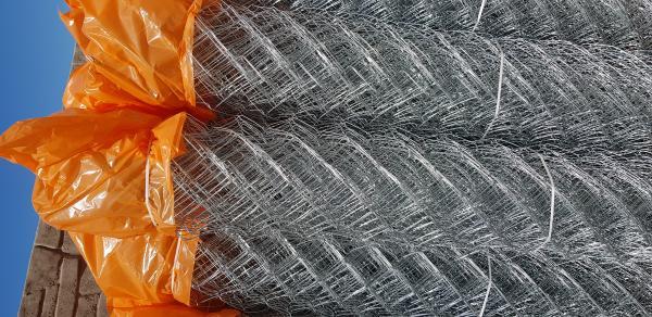 Сетка рабица 2 м ячейка  55*55  рулон 10 метров