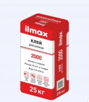 Клей д.блоков ilmax 2000 25кг