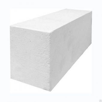Блоки газосиликатные 1 категории 625*400*250 на клей  1м3
