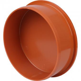 Заглушка для канализационной трубы рыжая 110