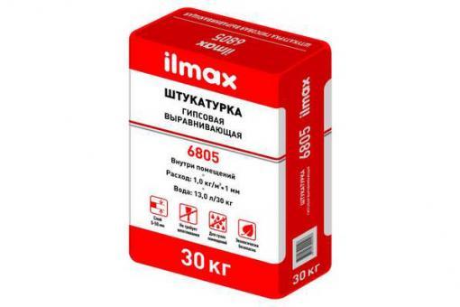 Штукатурка гипсовая Илмакс 6805, 30кг