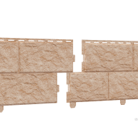 Сайдинг Stone - House Камень,золото,жженый двойной замок Цена за м2
