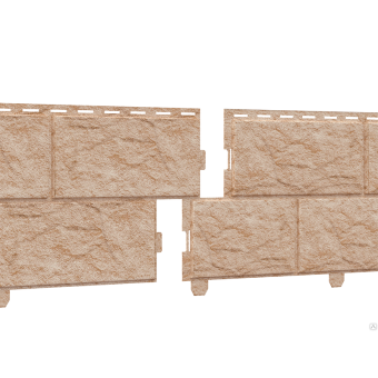 Сайдинг Stone - House Камень, светлый  м2