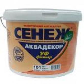 АНТИСЕПТИК АКВАДЕКОР (РЯБИНА) 2,5КГ, СЕНЕЖ