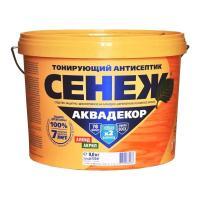 АНТИСЕПТИК ДЛЯ ДРЕВЕСИНЫ АКВАДЕКОР 9 литров, СЕНЕЖ, в ассортименте