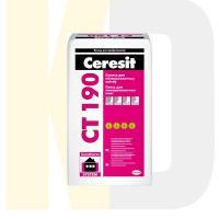 Смесь для приклеивания минераловатных плит Ceresit  СТ 190   25кг