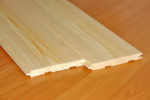 Потолочная рейка штиль сорт А (сосна) 17мм*122м*5м за м2