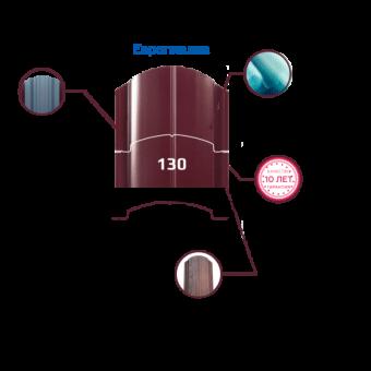 Штакетник глянцевый односторонний европланка (130 мм ).Цена за м.п