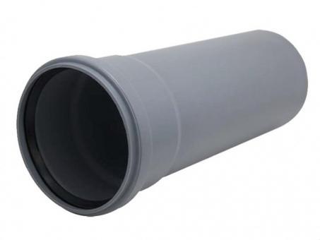 Труба для канализации 110 2м серая