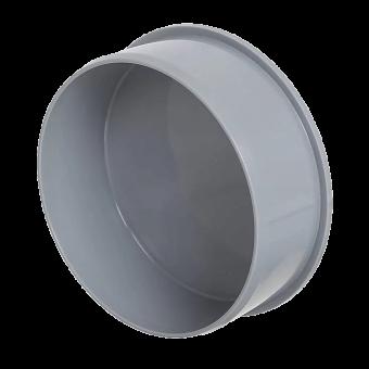 Заглушка для канализационной трубы серая 110