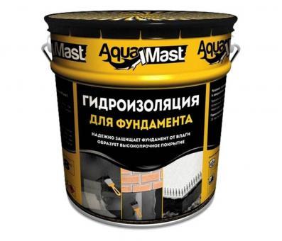 Мастика Agua MAST Технониколь 18 кг для фундамента