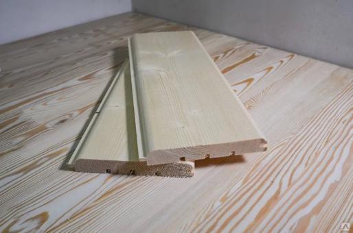 Потолочная рейка штиль сорт А (сосна) 17мм*122мм*5м за м2