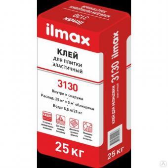 Клей для плитки эластичный  ilmax 3130 25кг