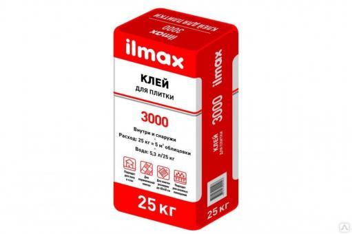 Клей для плитки ilmax3000 25кг