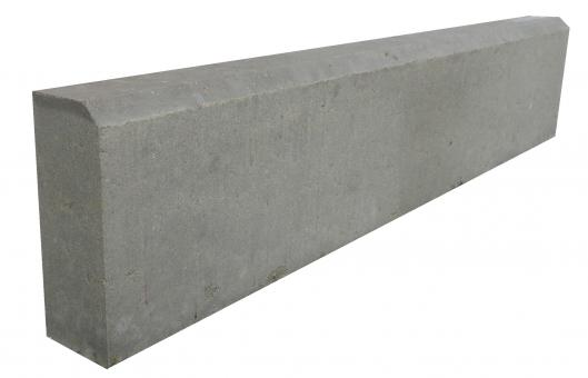 Бордюр метровый Серый 1000*220*75
