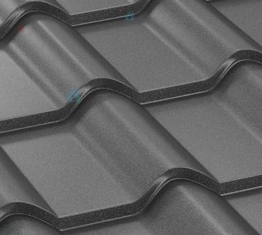 Металлочерепица листовая  полиэстер кварц Zn 225 г/м2,покрытие 35мк (,047 мм).Цена за м2
