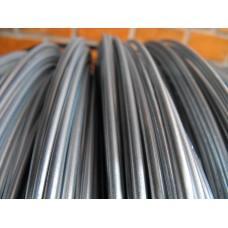 Проволока натяжная на забор 2,5 мм для сетки Рабицы (50 м )