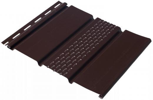 Софит коричневый с частичной перфорацией  1шт-0,92м2  3м