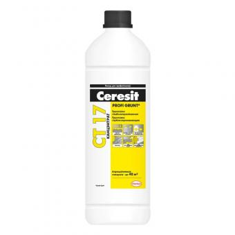 Грунтовка Ceresit CT-17  глубокопроникающая 1л  1к1