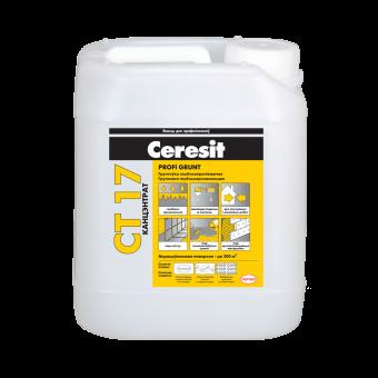 Грунтовка Ceresit CT-17 глубокопроникающая 5л  1к1