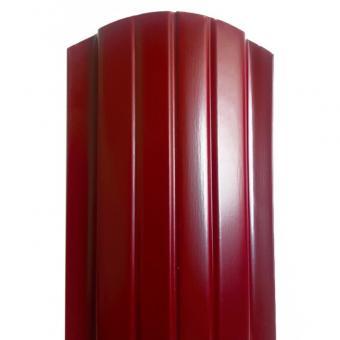 Штакетник матовый односторонний трапеция (118 мм ). Цена за м.п.