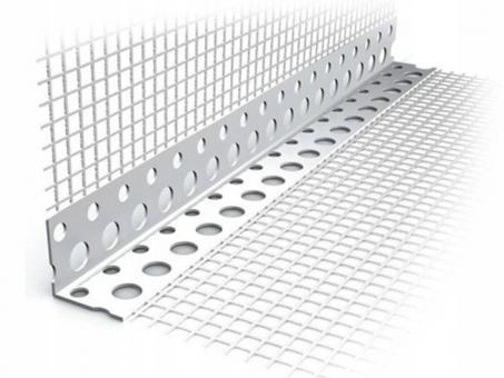 Уголок пластиковый с сеткой 100*150*3метра
